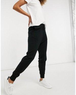 Lindex Silla premium merino wool jogger in black