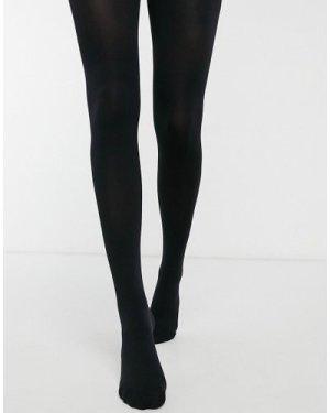 Lindex 80 denier full cover & matt tights in black