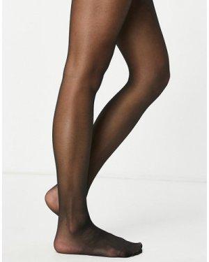Lindex 20 denier matt tights in black