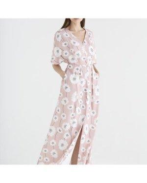 Athens maxi floral dress