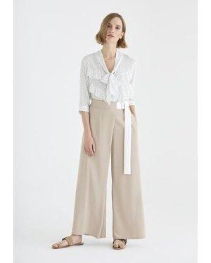 Bond polka dot blouse