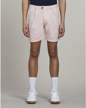 Bellfield Kowalski Chino Mens Shorts | Pink, 30 Inch Waist