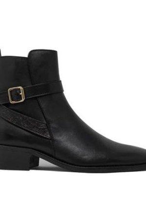 Hoxton Halo Cuban Heel Boot
