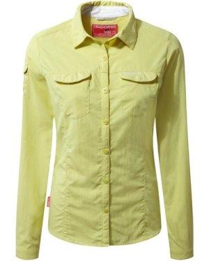 NosiLife Adventure Long Sleeved Shirt Limeade