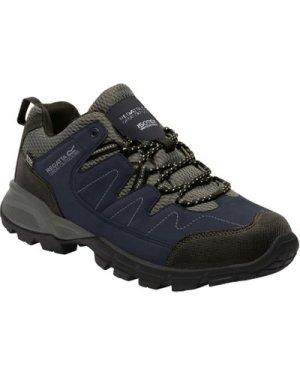 Holcombe Low Walking Shoe Navy Granit