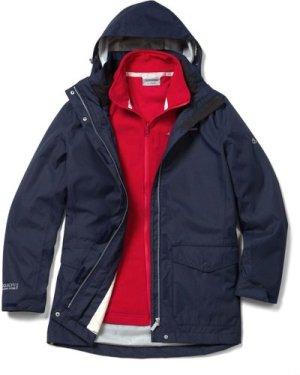 Madigan III 3 in 1 Jacket Soft Navy Red