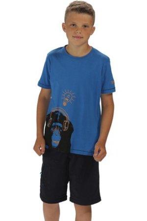 Bobbles II T-Shirt Oxford Blue