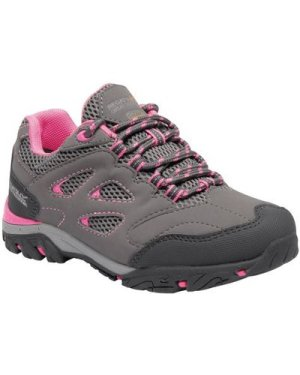 Regatta Kids' Holcombe IEP Waterproof Walking Shoes - Steel Tulip