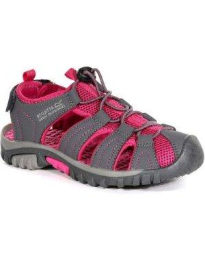 Regatta Kids' Westshore Lightweight Walking Sandals - Granite Cabaret Pink