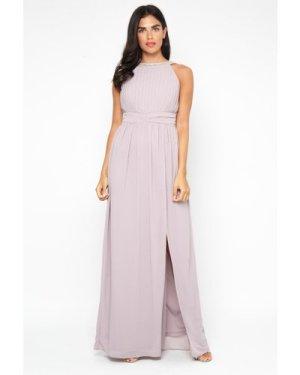 TFNC Martha Grey Maxi Dress