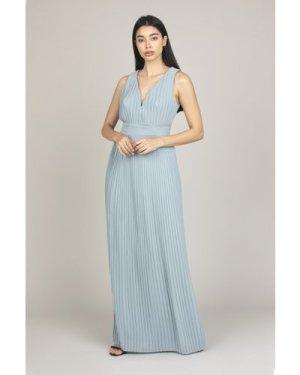 TFNC Veena Dusty Sage Maxi Dress