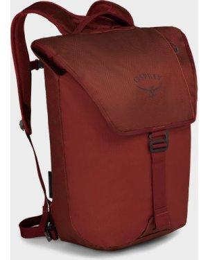Osprey Transporter Flap Backpack, Red/FLAP