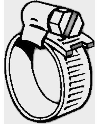Continental OO Hose Clip, Silver/CLIP