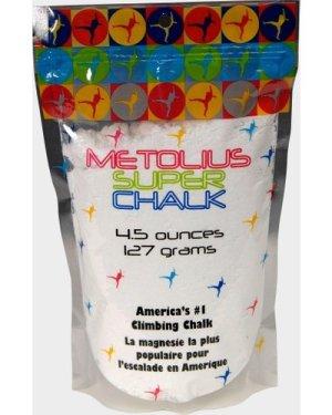 Metolius Super Chalk (4.5 oz), White/White