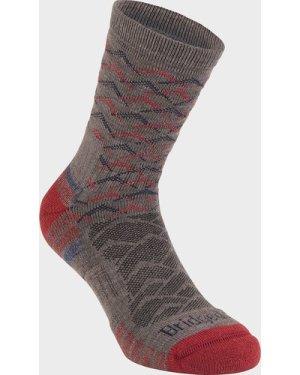 Bridgedale Men's Hike Lightweight Merino Endurance Ankle Socks, GREY/ANKLE