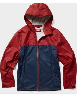 Merrell Men's Fallon Waterproof Jacket, Navy/NVY