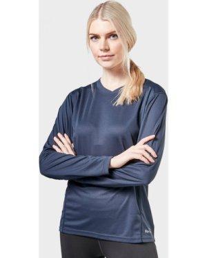 Peter Storm Women's Long Sleeve Tech Tee, Navy/B