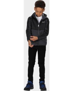 Regatta Kids' Bracknell II Softshell Jacket, Grey/GRY