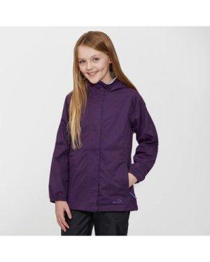 Peter Storm Kid's Wendy II Waterproof Jacket, Purple/PUP