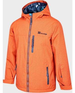 The Edge Kids' Iglu Snow Jacket, Orange/KIDS