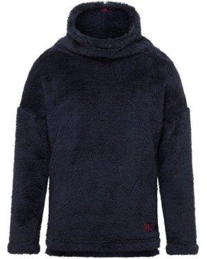 The Edge Kids' Slopestyle Cowl Fleece Top, NAVY/KIDS