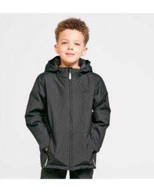 Peter Storm Kids' Recess Insulated Waterproof Jacket, Black/BLK