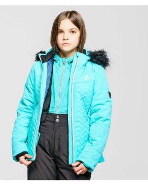 Dare 2B Kids' Snowdrop Ski Jacket Jacket, Blue/BLU