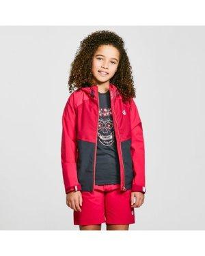 Dare 2B Kids' In The Lead II Waterproof Jacket, Pink/Black