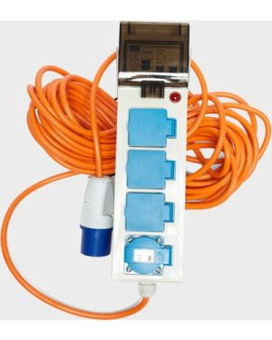 Eurohike Mobile Mains Kit Deluxe with 2 USB, White/2.0