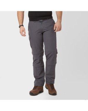 Brasher Men's Double Zip-Off Trousers, Grey/GRY