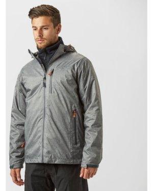 Peter Storm Men's Tornado Waterproof Jacket, Grey/Mid Grey