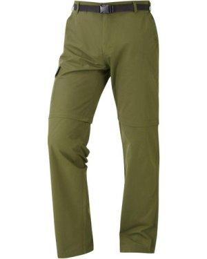 HI-GEAR Men's Nebraska II Zip-Off Walking Trousers, GREEN/Green
