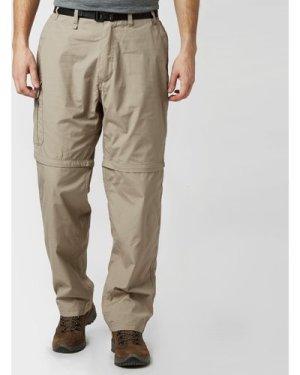 Craghoppers Men's Kiwi Zip-Off Trousers, Beige/Brown