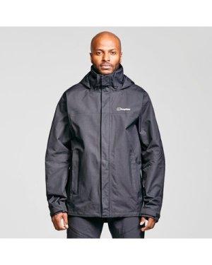 Berghaus Men's RG Alpha 2.0 Waterproof Jacket, Black/BLK