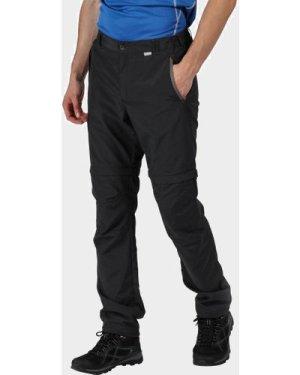 Regatta Men's Leesville II Zip-Off Trousers, Grey/GRY