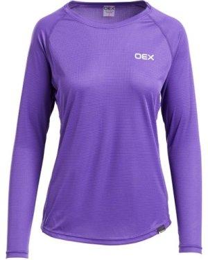 OEX Women's Breeze Baselayer T-Shirt, Purple/PUR