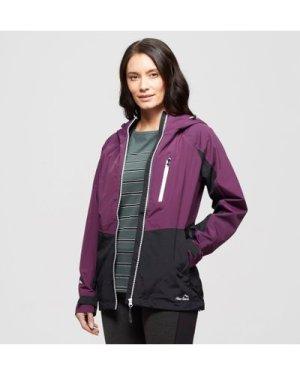 Peter Storm Women's Colourblock Waterproof Jacket, Purple/PUR