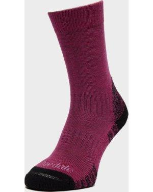 Bridgedale Women's Woolfusion Trail Sock - Purple/Pur, Purple/PUR
