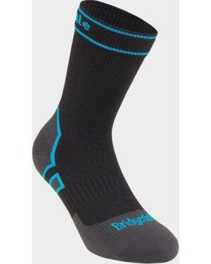 Bridgedale Stormsock Midweight Waterproof Boot Socks - Black/Blk, Black/BLK