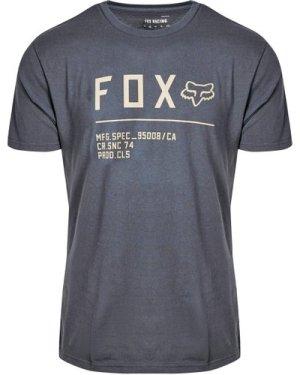 Fox Men's Non Stop Premium Short Sleeve T-Shirt - Navy/Nvy, Navy/NVY