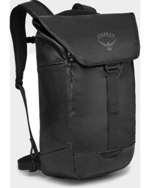 Osprey Transporter Flap Backpack - Black/Mgy, Black/MGY
