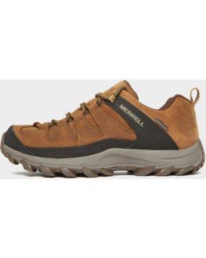 Merrell Men's Ontonagon Peak Waterproof Hiking Shoe - Brown/Brn, Brown/BRN