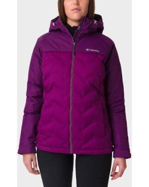 Columbia Women's Grand Trek Down Jacket - Purple/Wmns, PURPLE/WMNS