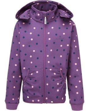 Hi-Gear Kids' Speck Softshell Jacket - Purple/Girls, PURPLE/GIRLS