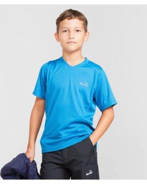Peter Storm Kids' Balance Short Sleeve Tee - Blue/Mbl, Blue/MBL