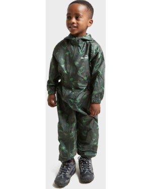 Peter Storm Kids' Dino Waterproof Suit - Green/Khk, Green/KHK