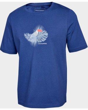 Craghoppers Kids' Olga Short Sleeved T-Shirt - Blue/Dbl, Blue/DBL