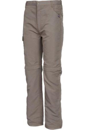 Regatta Kids Sorcer Zip Off Trousers Ii - Brown/Brown, BROWN/BROWN