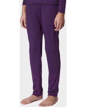 Peter Storm Kids' Thermal Baselayer Pants - Purple/Purple, Purple/Purple