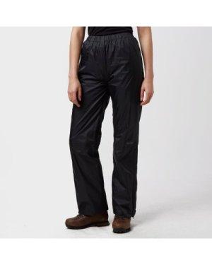 Peter Storm Women's Tempest Waterproof Trousers - Black/Blk, Black/BLK